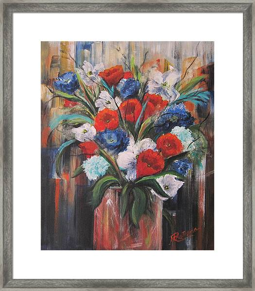 Flower Pride Framed Print