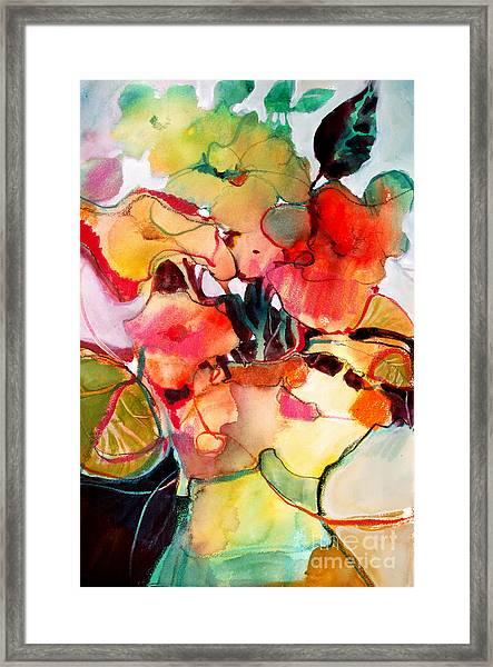 Flower Vase No. 2 Framed Print