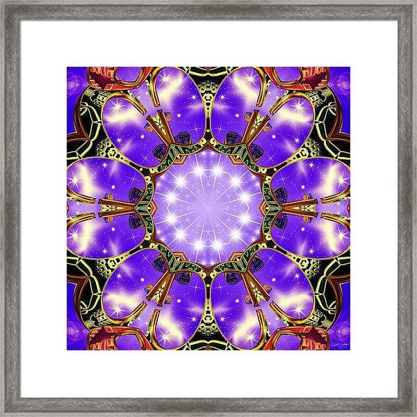 Flowergate Framed Print