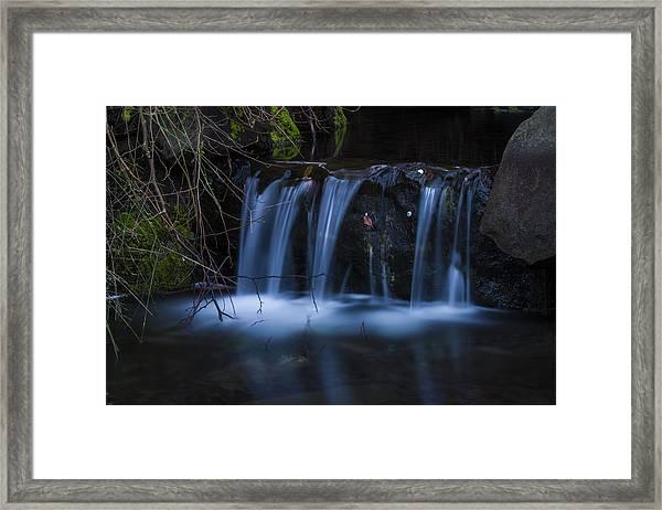 Flowing Beauty Framed Print