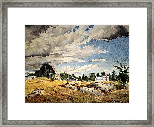 Floyd's Barn No. 2 Framed Print
