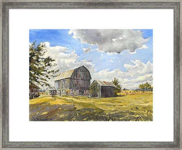 Floyd's Barn No.1 Framed Print
