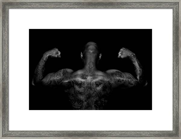 Body Art Framed Print