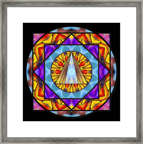 Fluid Transformation Framed Print
