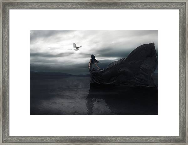 Fly To You Framed Print