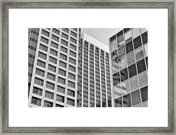 Flying Solo Framed Print