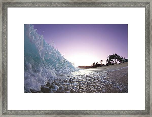 Foam Wall Framed Print