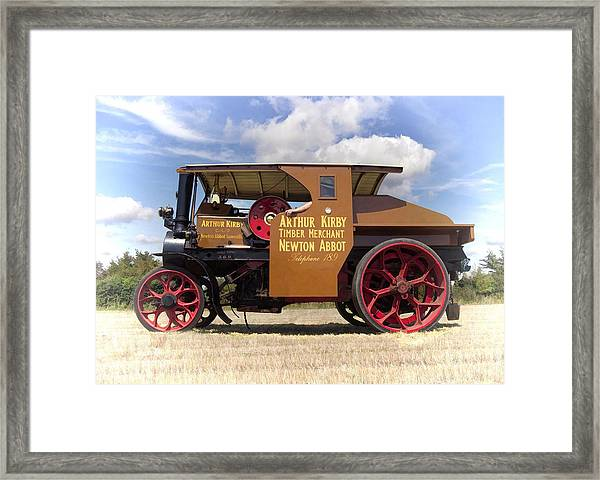 Foden Tractor Framed Print