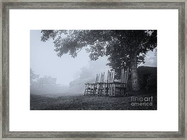 Fogbound Framed Print