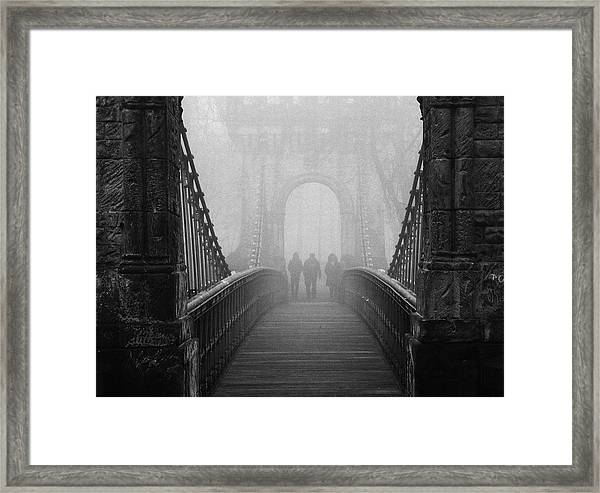 Foggy Day(they) Framed Print by Catalin Alexandru