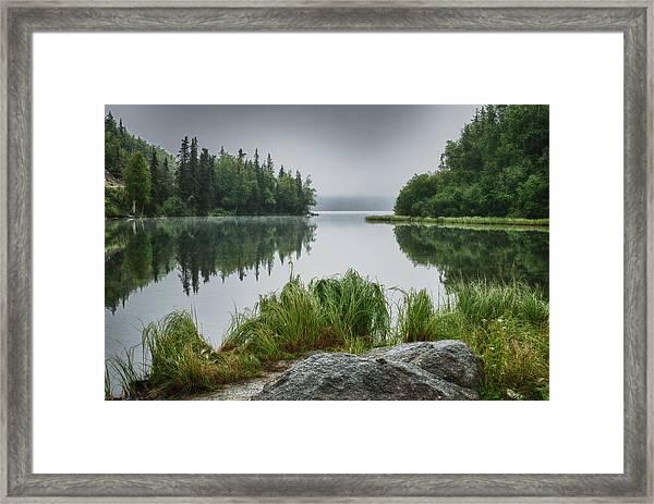 Foggy Morn Framed Print