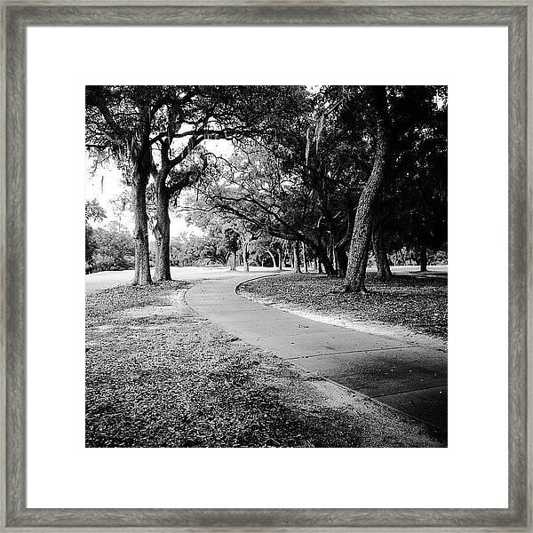 Follow Framed Print