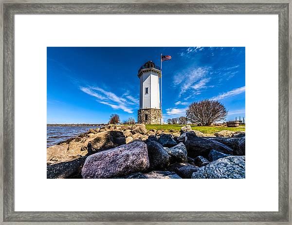 Fond Du Lac Lighthouse Framed Print