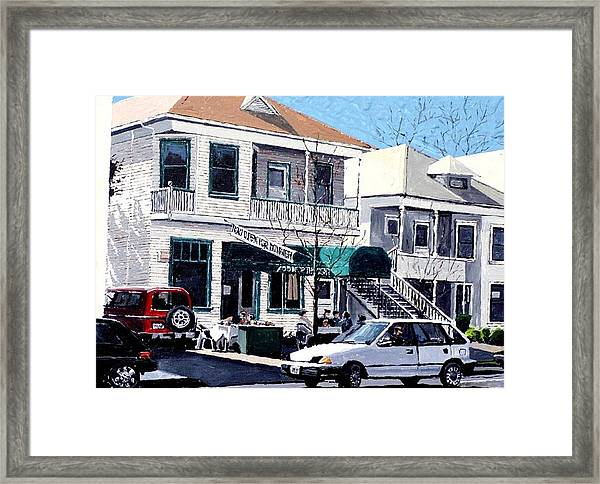 Food For Thought Framed Print by Paul Guyer