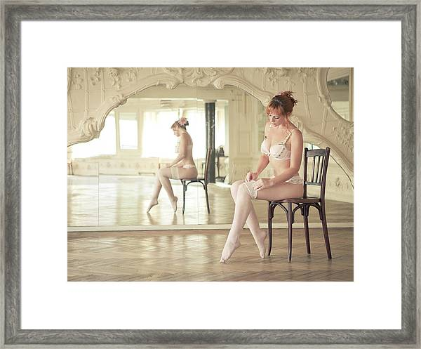 Footwork Framed Print