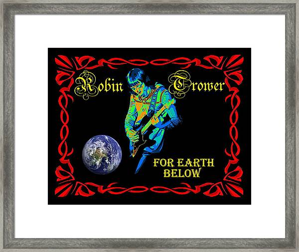 For Earth Below #1 Framed Print