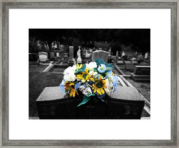 For My Love Framed Print