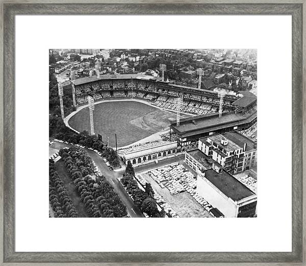 Forbes Field In Pittsburgh Framed Print