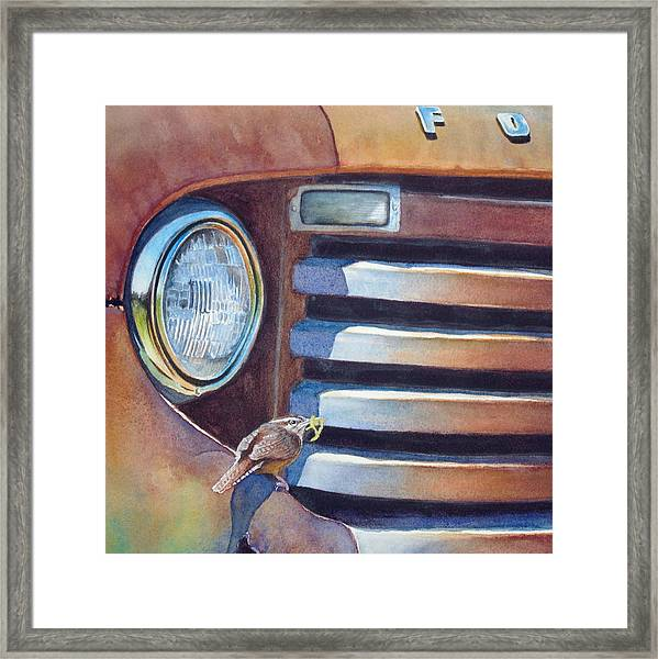 Ford And Wren Framed Print