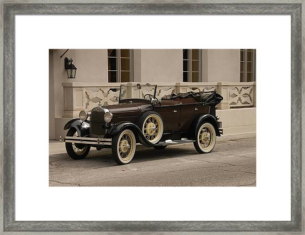 Ford Convertible 01 Framed Print