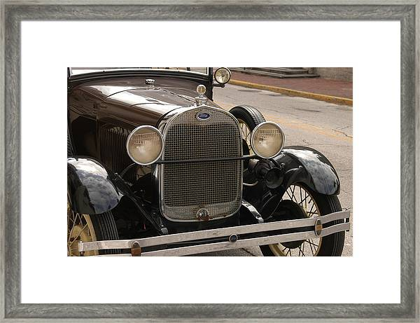 Ford Convertible 02 Framed Print