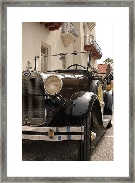Ford Convertible 03 Framed Print