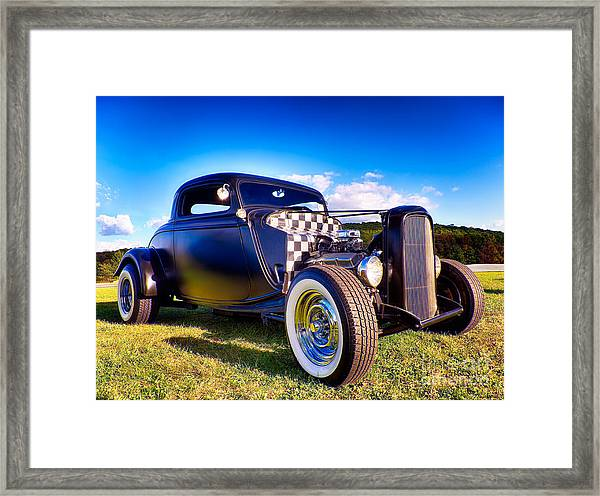 Ford Coupe Hot Rod Framed Print