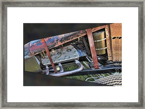 Ford Flat Head V8 Framed Print