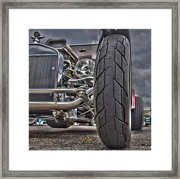 Ford In Hdr Framed Print