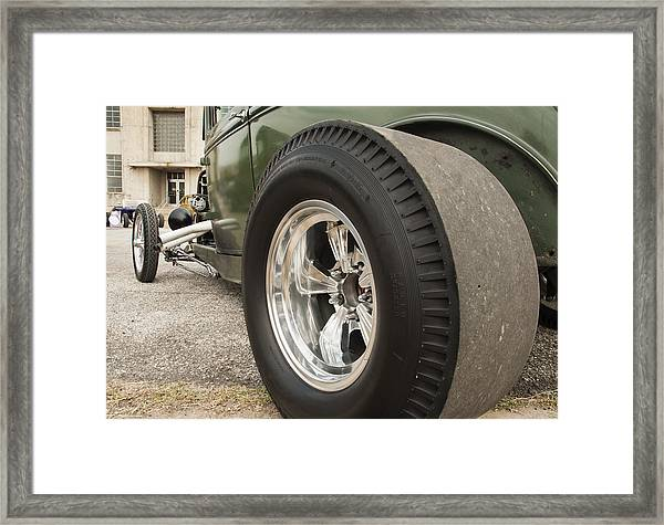 Ford Model A Hotrod Framed Print