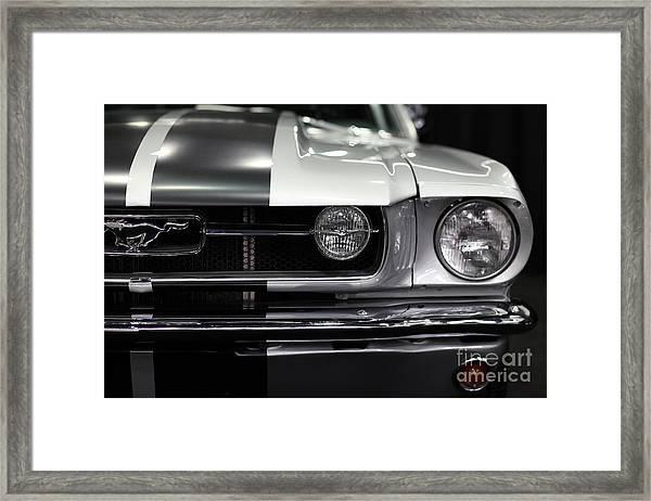Ford Mustang Fastback - 5d20342 Framed Print