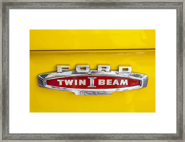 Ford Tough 1966 Truck Framed Print