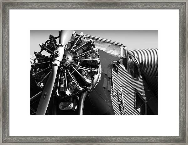 Ford Tri-motor Framed Print
