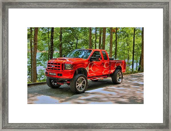 Ford Truck 01 Framed Print