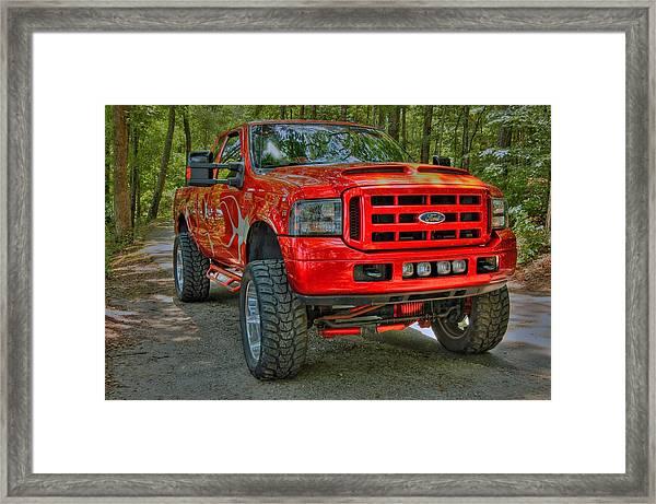 Ford Truck 02 Framed Print