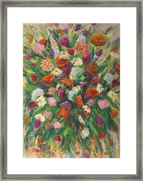 Forever In Bloom Framed Print