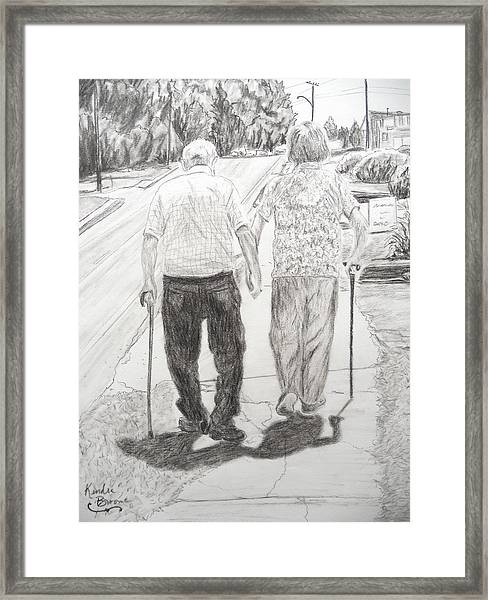 Forever Framed Print by Kendra DeBerry
