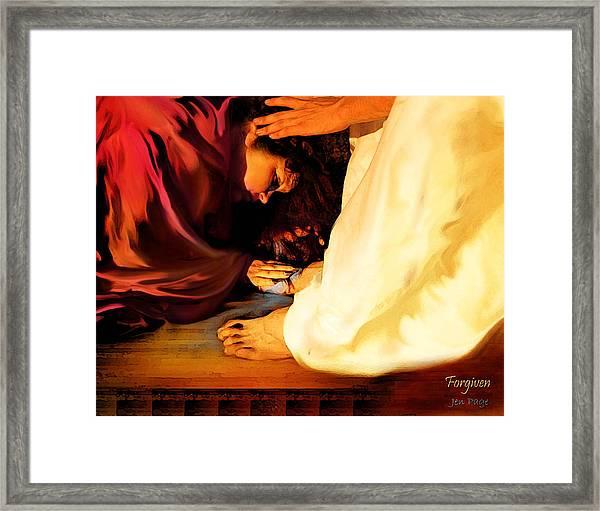 Forgiven Framed Print