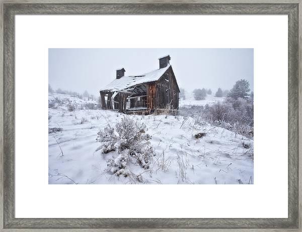 Forgotten In Time Framed Print