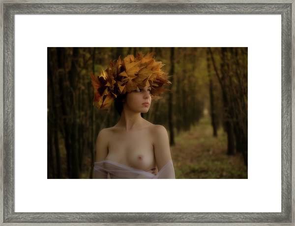Forrest Nymph Framed Print