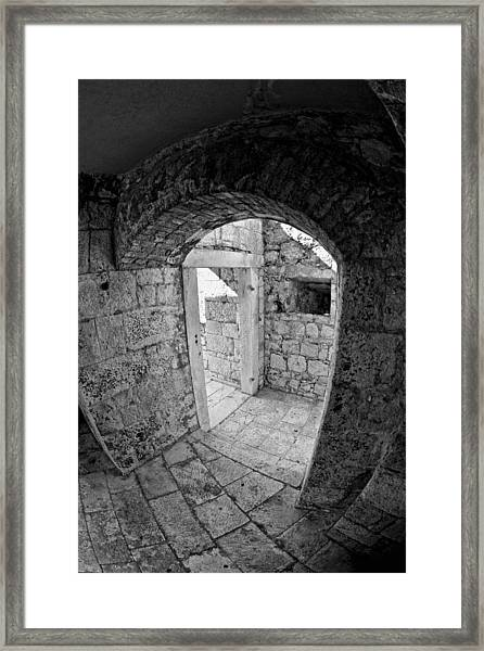 Fort Framed Print