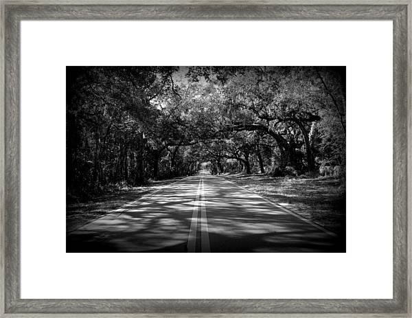 Fort Dade Ave Framed Print