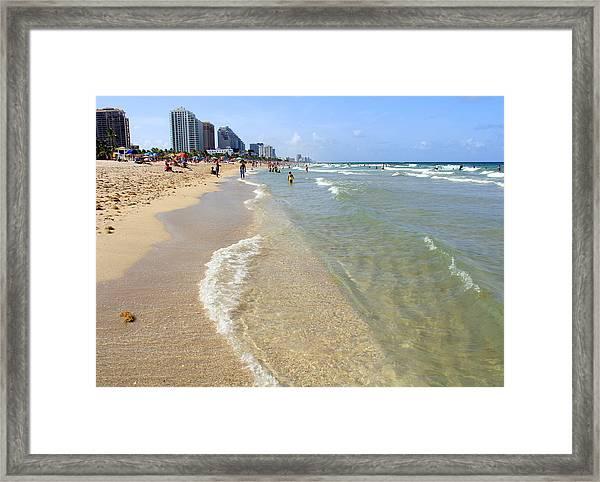 Fort Lauderdale Framed Print