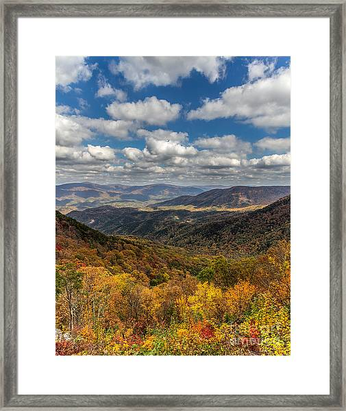 Fort Mountain Framed Print
