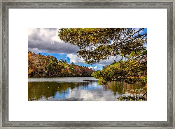 Fort Mountain State Park Framed Print