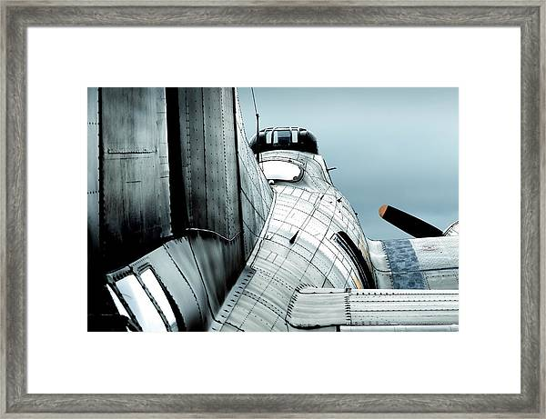 Fortress Of Steel Framed Print