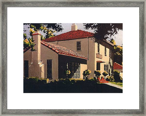 Forty First And Folsom Framed Print by Paul Guyer