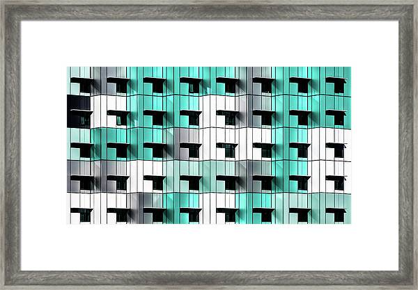 Forty Windows Framed Print by Wayne Pearson