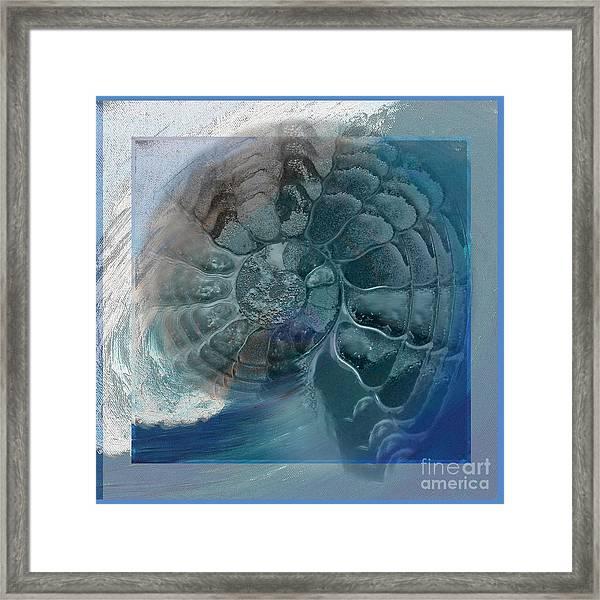 Fossil Ocean Framed Print