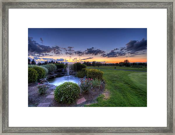 Salem Ohio Golf Framed Print
